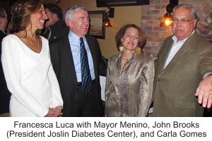 With Mayor